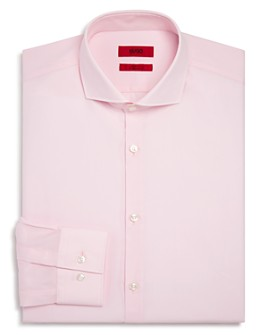 HUGO - Solid Slim Fit Dress Shirt