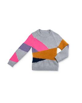 EGG new york - Girls' Geometric Intarsia Sweater - Baby