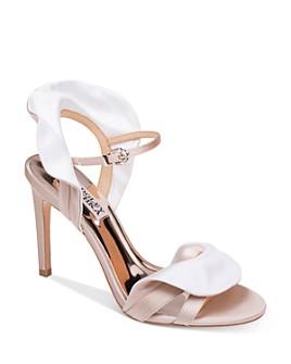 Badgley Mischka - Women's Ella Ruffle High-Heel Sandals