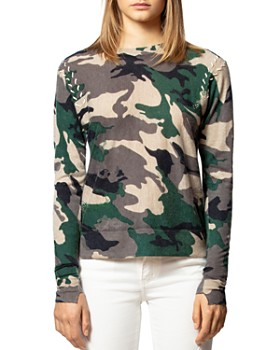 Zadig & Voltaire - Featherweight Camo Cashmere Sweater