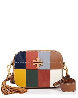 Tory Burch - McGraw Patchwork Medium Leather Camera Bag