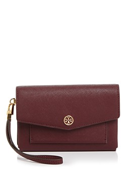 Tory Burch - Robinson Small Leather Tech Wristlet