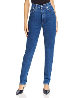 Helmut Lang - Femme Hi Spikes Jeans in Acc Bright Stone