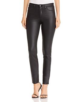 Armani - Coated Five-Pocket Pants