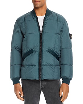 Stone Island - Down Puffer Bomber Jacket