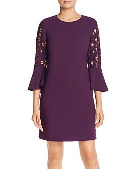 Elie Tahari - Esmarella Cutout-Sleeve Dress