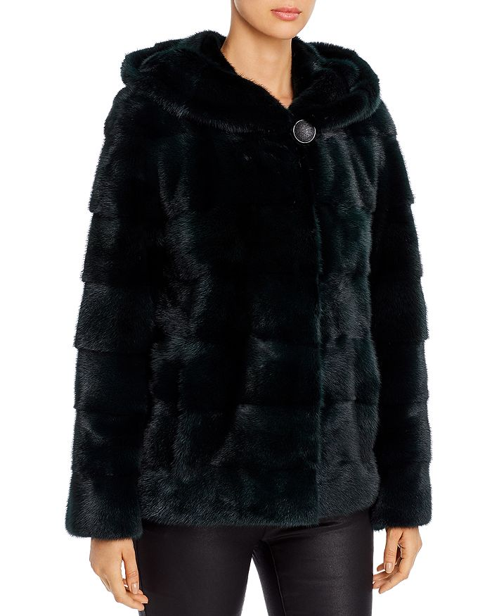 Maximilian Furs - Short Mink Fur Coat - 100% Exclusive