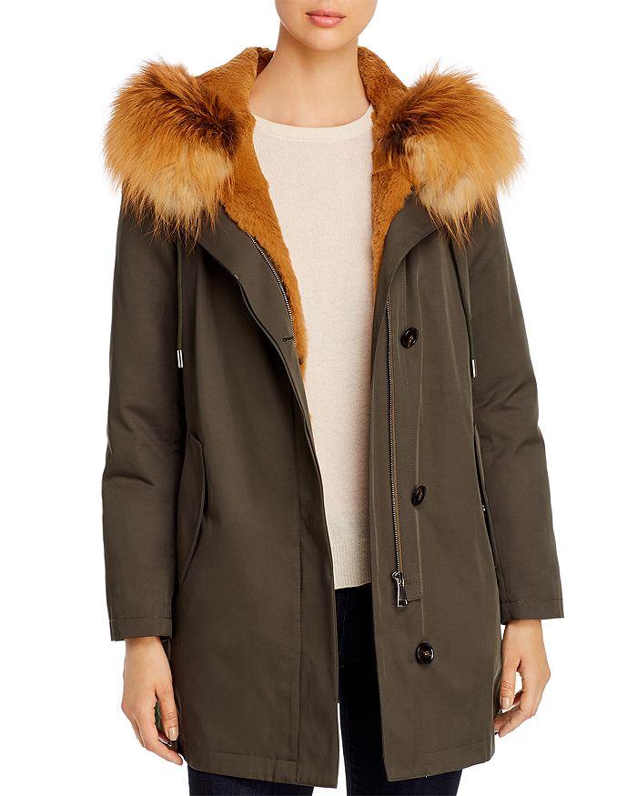 Maximilian Furs - Rabbit Fur-Lined Parka - 100% Exclusive