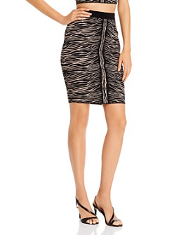 GUESS - Mirage Zebra Jacquard Skirt
