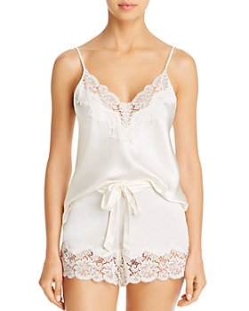 GINIA - Pick & Mix Lace Cami & Shorts