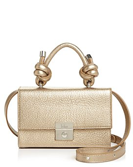 Behno - Mary Mini Metallic Leather Crossbody