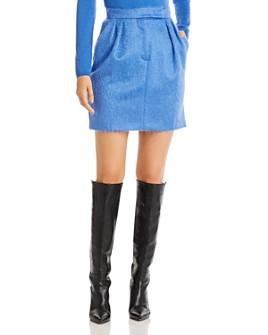 Max Mara - Turchia Pleated Mohair-Blend Skirt