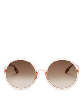 Dior - Women's SoStellaire3 Round Sunglasses, 59mm