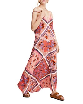 Free People - Stevie Scarf Print Maxi Dress
