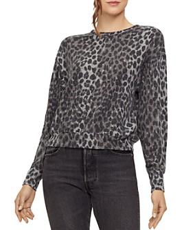 Michael Stars - Gigi Leopard-Print Sweatshirt