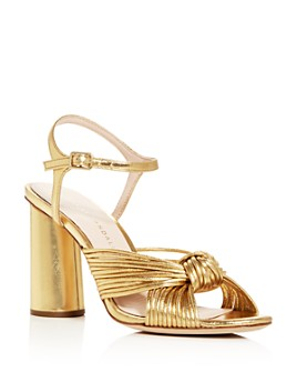 Loeffler Randall - Women's Cece Knotted Block Heel Sandals