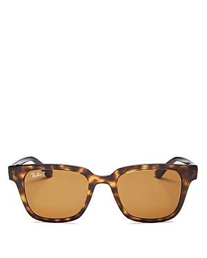 Ray-Ban Unisex Polarized Square Sunglasses, 51mm