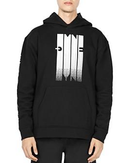 Dyne - Pixel Graphic Logo Hooded Sweatshirt