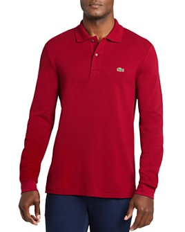 Lacoste - Classic Fit Long-Sleeve Piqué Polo Shirt