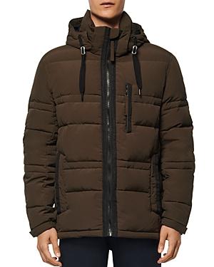 Huxley Removable-Hood Down Jacket