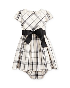 Ralph Lauren - Girls' Plaid Taffeta Dress & Bloomers Set - Baby