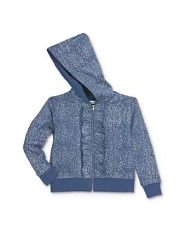 Mini Series - Girls' Alma Speckled Zip-Up Hoodie, Little Kid - 100% Exclusive