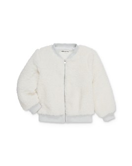 Mini Series - Girls' Adalyn Faux Fur Bomber Jacket, Little Kid - 100% Exclusive