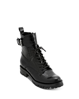 Dolce Vita - Women's Paxtyn Croc-Embossed Hiker Boots