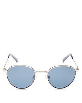 Polaroid - Men's Polarized Round Sunglasses, 49mm
