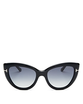 Tom Ford - Women's Polarized Cat Eye Sunglasses, 55mm