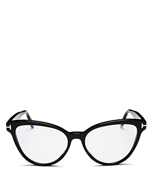 Tom Ford Women's Cat Eye Blue Light Glasses, 54mm