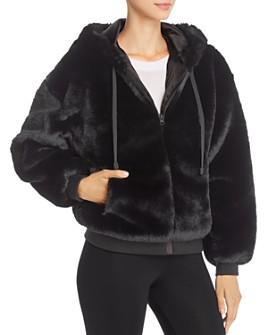 Blanc Noir - Aspen Faux Fur Hoodie