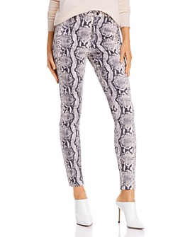 Sunset & Spring - Snake Print Faux Suede Pants - 100% Exclusive