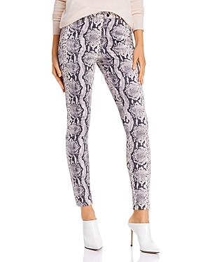Sunset + Spring Snake Print Faux Suede Pants - 100% Exclusive