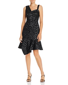 Laundry by Shelli Segal - Shimmer Animal-Print Shift Dress
