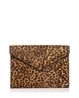 Rebecca Minkoff - Leo Leopard-Print Calf Hair Clutch