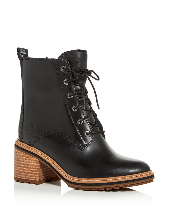 Women's Sienna Waterproof Block Heel Booties