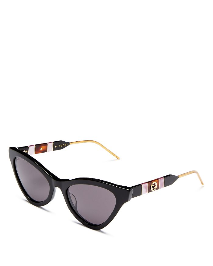 Gucci - Women's Cat Eye Sunglasses, 55mm