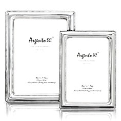 "Argento ""Double Bead"" Sterling Silver Frames - Bloomingdale's Registry_0"