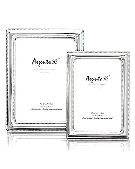 Argento SC - Double Bead Sterling Silver Frame