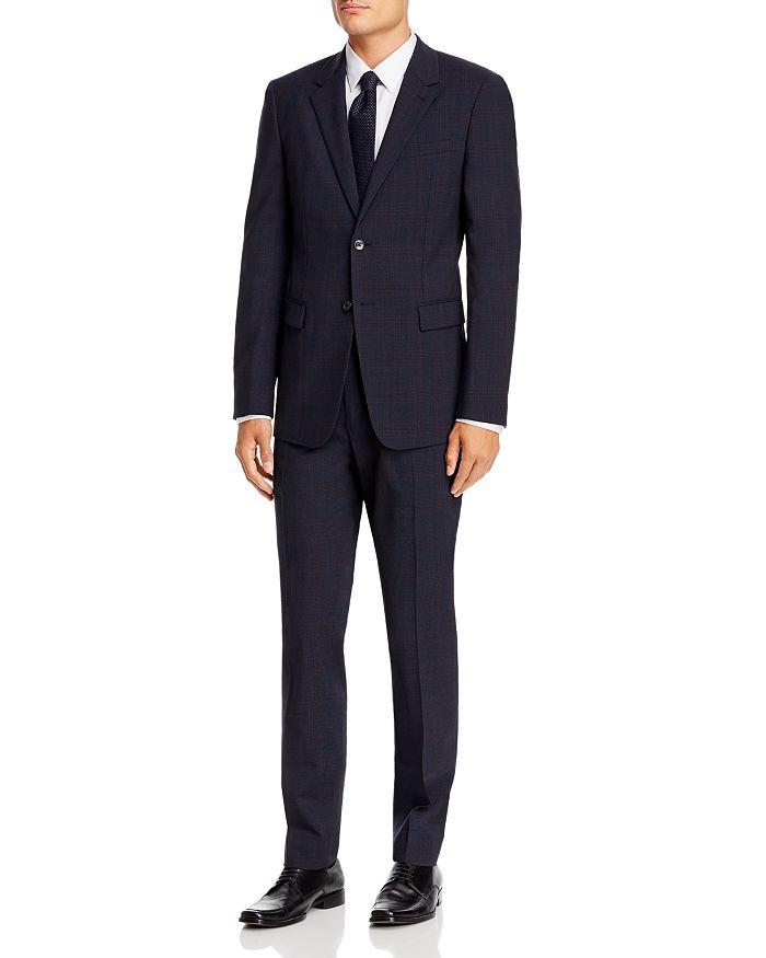 Theory - Plaid Slim Fit Suit Separates