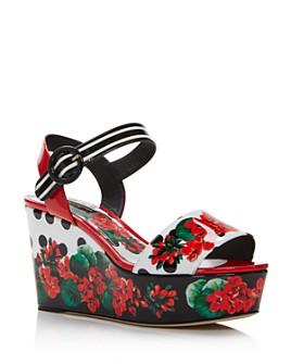 Dolce & Gabbana - Women's Wedge Sandals