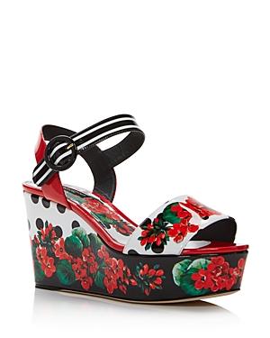 Dolce & Gabbana Sandals WOMEN'S WEDGE SANDALS
