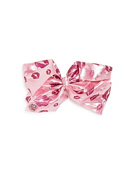 JOJO SIWA by BETSEY JOHNSON - Girls' Glitter Lips Bow - 100% Exclusive