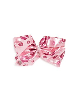JOJO SIWA by BETSEY JOHNSON - Girls' Glitter Lips Bow - 100% Exclusive