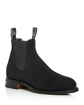 R.M. Williams - Men's Turnout Suede Chelsea Boots