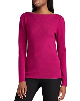 Ralph Lauren - Ribbed Boat-Neck Sweater
