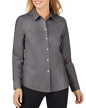 Foxcroft Dianna Cotton Non-Iron Shirt-Women