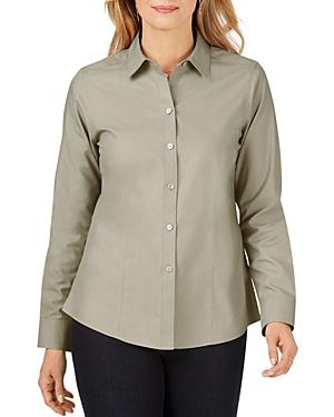 Foxcroft T-shirts COTTON NON-IRON SHIRT