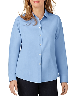 Foxcroft T-shirts COTTON NON-IRON SHIRT